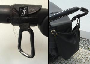 Handtaschen-Haken für Kinderwagen & Buggys