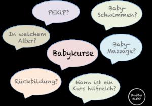 Was für Babykurse gibt es? Unsere Übersicht
