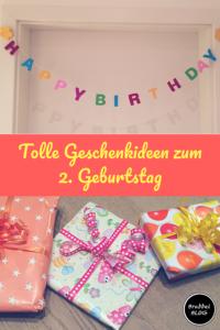 Schöne Geschenke zum 2. Geburtstag