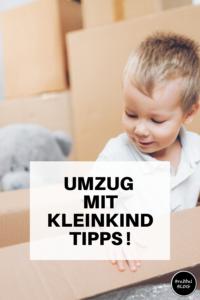 Umzug mit Kleinkind - unsere Tipps