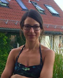 Fitness-Trainerin Corinna Wolf
