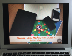 Kinder und Medienkonsum - Interview