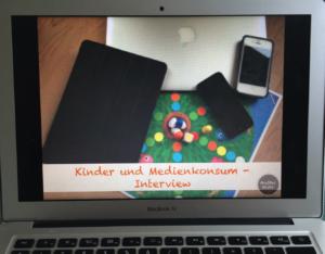 Kinder & Medienkonsum - Interview mit Sozialpädagogin Laura Thiele