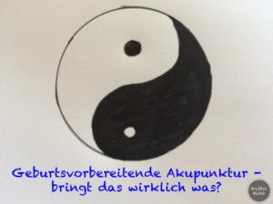 Geburtsvorbereitende Akupunktur - bringt das wirklich was?