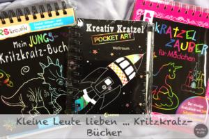Kleine Leute lieben...Kritzkratz-Bücher