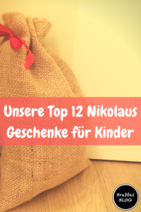Unsere Top 12 NikolausGeschenke für Kinder