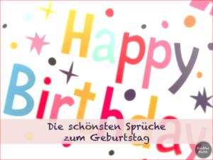 Die Schönsten Sprüche Zum Geburtstag Für Kinder
