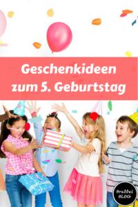 Geschenkideen zum 5. Geburtstag