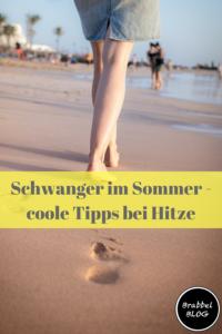 Schwanger im Sommer - coole Tipps gegen Hitze