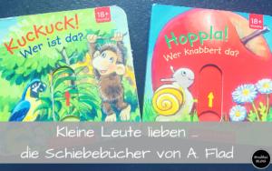 Kleine Leute lieben...die Schiebebücher von Antje Flad