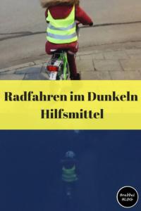 Radfahren im Dunkeln mit Kindern