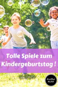 Spiele zum Kindergeburtstag