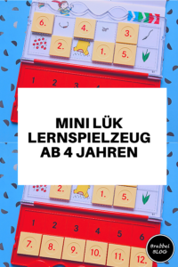 Mini Lük Lernspielzeug ab 4 Jahren