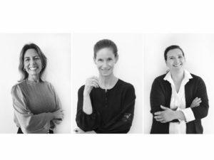 Die 3 Gründerinnen Ines, Manon und Stefanie (v.l.) - Abbildung mit freundlicher Genehmigung von Milalindo