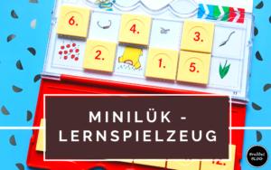 miniLük - Lernspielzeug ab 4 Jahren