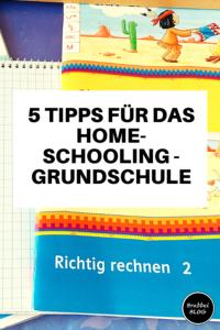 5 Tipps für das Homeschooling - Grundschule