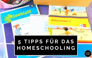 5 Tipps für das Homeschooling in der Grundschule