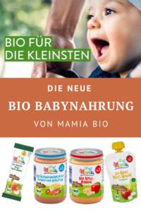 Die neue Bio-Babynahrung von Mamia Bio
